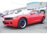 2010 Victory Red Chevrolet Camaro LS Coupe #21992285