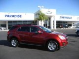 2010 Cardinal Red Metallic Chevrolet Equinox LT #22005754