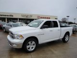 2010 Stone White Dodge Ram 1500 Big Horn Quad Cab #22005680