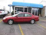 Toreador Red Metallic Ford Taurus in 2001