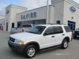 2003 Oxford White Ford Explorer XLS 4x4 #22000408