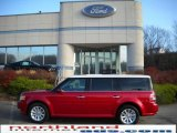 2010 Red Candy Metallic Ford Flex SEL AWD #21991615