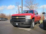 2010 Victory Red Chevrolet Silverado 1500 Extended Cab 4x4 #22008010