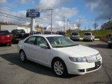 2008 White Suede Lincoln MKZ Sedan #21997380