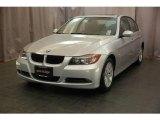 2007 Titanium Silver Metallic BMW 3 Series 328xi Sedan #21989981