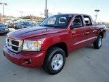2010 Inferno Red Crystal Pearl Dodge Dakota ST Crew Cab 4x4 #22062434