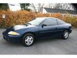 2002 Indigo Blue Metallic Chevrolet Cavalier Coupe #22059827