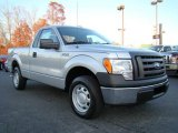 2010 Ingot Silver Metallic Ford F150 XL Regular Cab #22055604