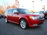 2010 Red Candy Metallic Ford Flex SEL EcoBoost AWD #22055603