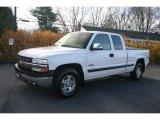 2002 Summit White Chevrolet Silverado 1500 LS Extended Cab 4x4 #22059822