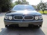 2003 Black Sapphire Metallic BMW 7 Series 745Li Sedan #22063304