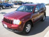 2008 Red Rock Crystal Pearl Jeep Grand Cherokee Laredo #22001098