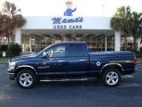2007 Patriot Blue Pearl Dodge Ram 1500 SLT Quad Cab #22002663