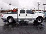2004 Oxford White Ford F250 Super Duty Lariat Crew Cab 4x4 #21991463