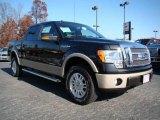 2010 Tuxedo Black Ford F150 Lariat SuperCrew 4x4 #21998878
