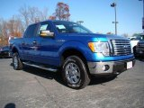 2010 Blue Flame Metallic Ford F150 XLT SuperCrew 4x4 #21998879