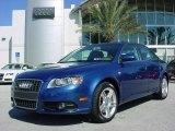 2008 Ocean Blue Pearl Effect Audi A4 2.0T Special Edition Sedan #2193030