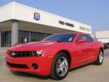 2010 Victory Red Chevrolet Camaro LS Coupe #22110308