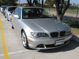 2004 Titanium Silver Metallic BMW 3 Series 325i Coupe #22150682