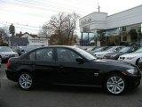 2009 Jet Black BMW 3 Series 335xi Sedan #22139146