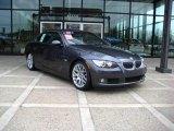 2008 Sparkling Graphite Metallic BMW 3 Series 328i Convertible #22145640