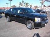 2009 Black Chevrolet Silverado 1500 LS Crew Cab #22152139