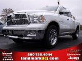 2010 Stone White Dodge Ram 1500 Laramie Crew Cab #22144937