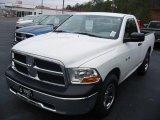 2010 Stone White Dodge Ram 1500 ST Regular Cab #22153748