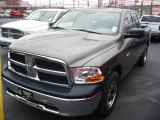 2010 Mineral Gray Metallic Dodge Ram 1500 ST Quad Cab #22153753