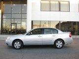 2005 Galaxy Silver Metallic Chevrolet Malibu LS V6 Sedan #22152354