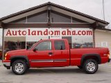 2006 Victory Red Chevrolet Silverado 1500 LT Extended Cab 4x4 #22148134