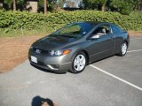 2006 Galaxy Gray Metallic Honda Civic EX Coupe #22139203