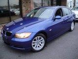 2007 Montego Blue Metallic BMW 3 Series 328xi Sedan #22142459