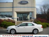 2010 White Platinum Tri-coat Metallic Ford Fusion SE #22137955
