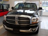 2006 Brilliant Black Crystal Pearl Dodge Ram 1500 Big Horn Edition Quad Cab #22155621
