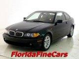 2004 Jet Black BMW 3 Series 325i Coupe #22200777
