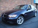 2008 Monaco Blue Metallic BMW 3 Series 328xi Sedan #22201627