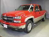 2007 Victory Red Chevrolet Silverado 1500 Classic LS Extended Cab 4x4 #22208509