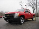 2009 Victory Red Chevrolet Silverado 1500 Extended Cab #22213397
