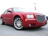 2008 Inferno Red Crystal Pearl Chrysler 300 C HEMI SRT Design #22196445