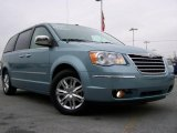 2010 Clearwater Blue Pearl Chrysler Town & Country Limited #22196415