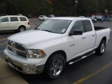 2010 Stone White Dodge Ram 1500 Big Horn Quad Cab 4x4 #22213008