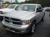 2009 Bright Silver Metallic Dodge Ram 1500 SLT Quad Cab 4x4 #22213015