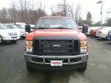 2010 Vermillion Red Ford F350 Super Duty XL Crew Cab 4x4 #22201360