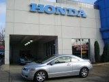 2007 Alabaster Silver Metallic Honda Civic LX Coupe #22200041