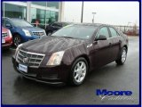 2009 Black Cherry Cadillac CTS 4 AWD Sedan #22199035