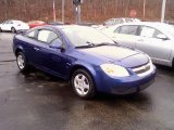2007 Laser Blue Metallic Chevrolet Cobalt LT Coupe #22195166