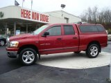 2006 Inferno Red Crystal Pearl Dodge Ram 1500 SLT Quad Cab 4x4 #22209286
