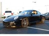 2008 Black Porsche 911 Turbo Coupe #52917