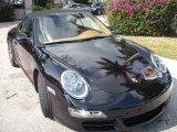 2008 Black Porsche 911 Carrera S Cabriolet #2224637